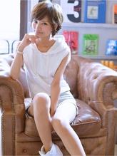 LaLA☆夏色クリアベージュショートtel0112728115 夏色.34