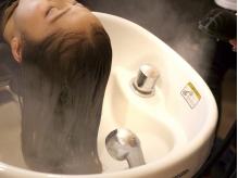 【オリジナルトリートメント+カラー¥9720】5STEPの丁寧な施術で、徹底的に髪質を改善し美髪に導く♪[横浜]