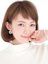 ナチュラルヘルシーな内巻き艶髪ワンレンボブが大人スタイル☆ 春色.40