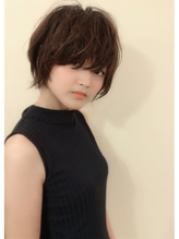 【morio池袋】小顔大人ショート ブラウンアッシュ.18
