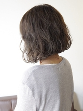 【 Mereve by natsumi 】ゆるふわパーマ×マットグレージュ*.59