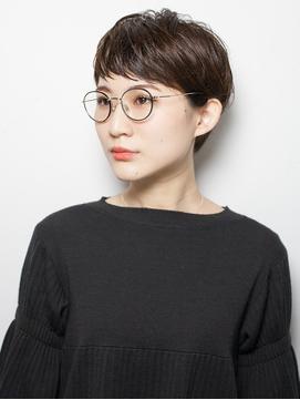 【KAILA】大人メガネショート002 高野