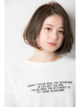 【Euphoria /宮田真白】10代20代大人可愛いふんわりボブパーマ