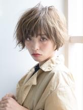 《Barretta/蒲田570》☆とろみショート×バレイヤージュカール☆ バレッタ.25