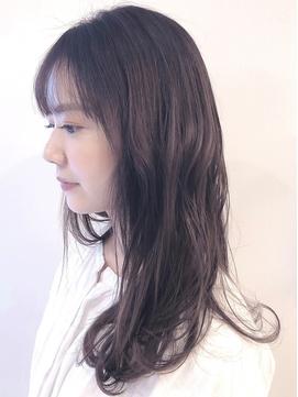 髪色長持ちバイオレットアッシュ☆