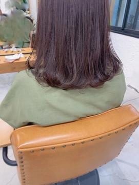 【Veil_KUWAMOTO】シアーパープル/ブリーチなし/大人の透明感