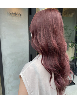 ~  pink hair  ~