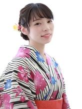 ☆浴衣ヘアアレンジ☆《小林優美》浴衣美人×編み込みアレンジ.49