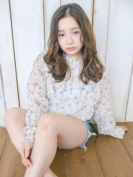 フェミニンふわふわパーマ【LUXBE西宮北口店】