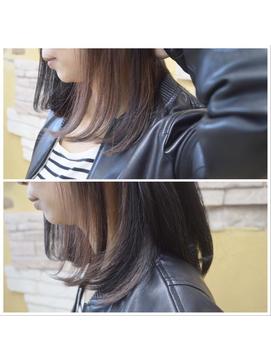 【ノットイコール大分】 黒髪×インナーカラー