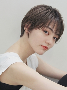 オシャレショート☆ #前髪#イメチェン#ラベンダーカラー