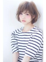 【畑中正敏】フェアリーなとろみデジタルパーマボブ アシンメトリー.9