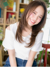 *+COVER HAIR+*…好感♪華やぎストレートa .6