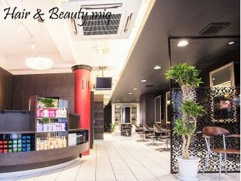 ミック ヘアアンドメイクアップ 日暮里店(miq Hair&Make up)(東京都荒川区/美容室)