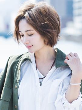 【ageha  hair】ショートスタイル2×水素カラー