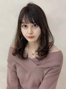 【金沢】20代30代 大人かわいい ひし形 束感 レイヤーカット