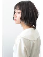シースルーバングインナーカラーショート【vicca萩原】.44