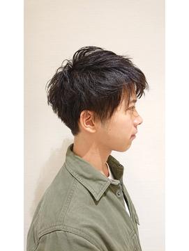 美シルエット ショートマッシュ【Ash大泉学園店  東 知孝】