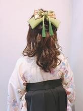 卒業式 袴 振袖 浴衣 ヘアアレンジ 浴衣.3