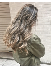 pearl veil×highlight×Balayage セレブ.37