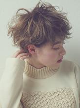 『ennui short』無造作カール×丸みショート.28