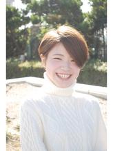 【shanti東戸塚】透明感のあるマットカラー♪こなれショート♪ .15