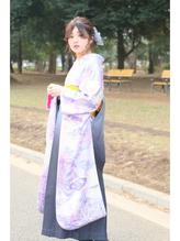 【Neolive & 渋谷店】 袴着付け×シンプルサイドアレンジ  卒業式,着物.1