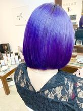 「アメ村 /Yazoo hair」ウルトラバイオレット.47