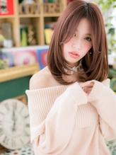 *bliss浦和*センターパートが大人かわいい☆小顔ワンカールa.57