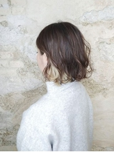 【Flor_上大岡】*インナーカラー+ペールホワイト+.59