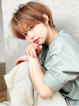 《Agu hair》大人可愛い丸みショート