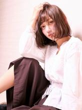 【M.SLASH横浜元町】大人ナチュラル♪抜け感セミディc.23