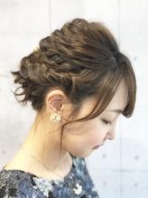 【STILL unlabel】サイド編み込みヘアアレンジ.1