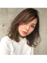 VEIN【青山】 グレージュカラー ハイライト パーマ.53