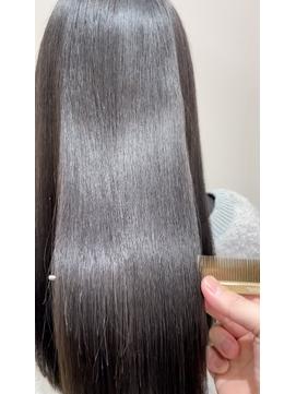 【髪質改善】酸熱トリートメントストレ―ト20代30代40代50代