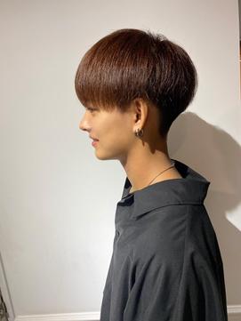 刈り上げ マッシュ 髪質改善トリートメント