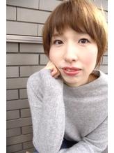 【MALUNA ヒマワリ】横顔美人ショート.16