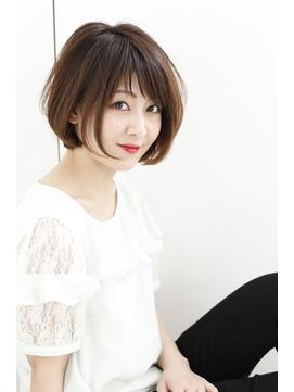 【Rire-リル銀座-】360°美シルエットショートボブ☆