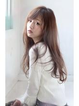 20代ロングヘア 柔らかさの要はハイライトとヘアアイロン☆ ヘアアイロン.4