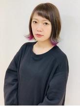 Lia&汐見悠佑 大人のラベンダーインナーカラー.38
