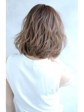 【Blanc/茶屋町】無造作ラフカール_デジタルパーマ_ボブ