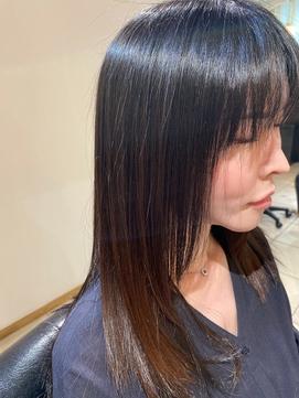 艶髪ロングヘア×髪質改善縮毛矯正【麻布十番六本木】