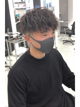 【NEXT shizuoka 竹田】ツイストパーマ×フェード刈り上げ