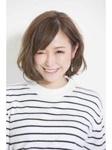 【新宿AXY-torte-】ナチュラルボブ ラフカール 大人,フェミニン.37