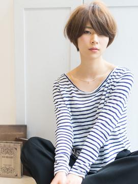 【Rire-リル銀座-】☆ふんわりマッシュショート☆