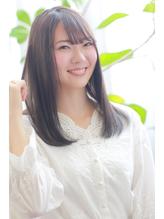 艶髪ワンカール×3Dカラー×シースルーバング.20