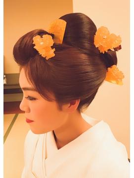 和装花嫁☆新日本髪