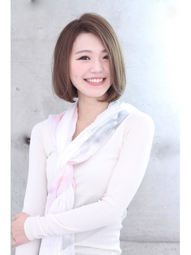 【Rose】大人かわいいナチュラルショートボブ☆