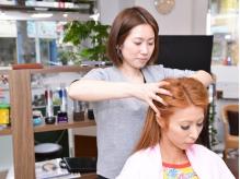 美髪への一歩は頭皮ケアから☆頭皮スッキリ髪しっとり♪いつもの施術にプラスして《オイルスパ》はいかが?