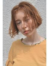 【デパール】ヘルシーレイヤー黒髪デジタルパーマイルミナカラー.39